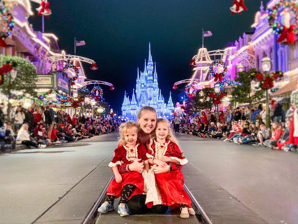Christmas Party at Disney World Magic Kingdom