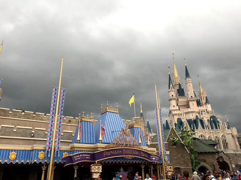 Check for Rain at Disney World
