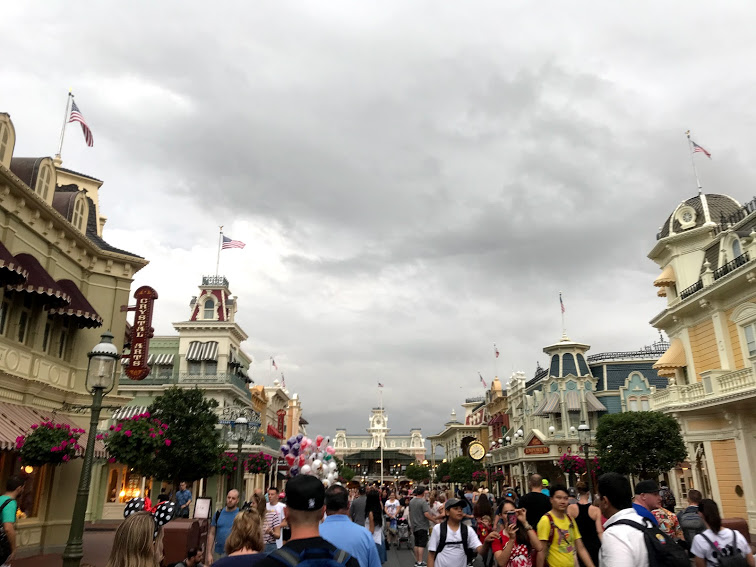 Rainy Day at Disney World